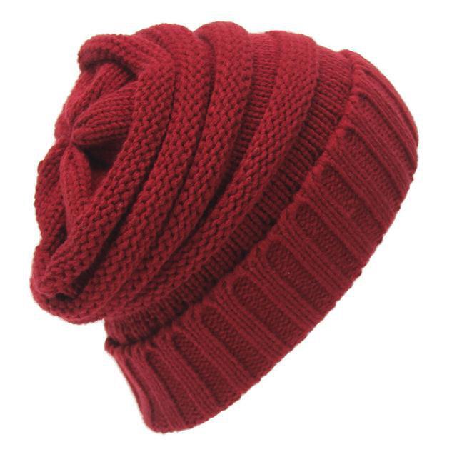 объемная шапка спицами