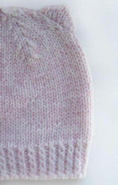 шапка для девочки схемы