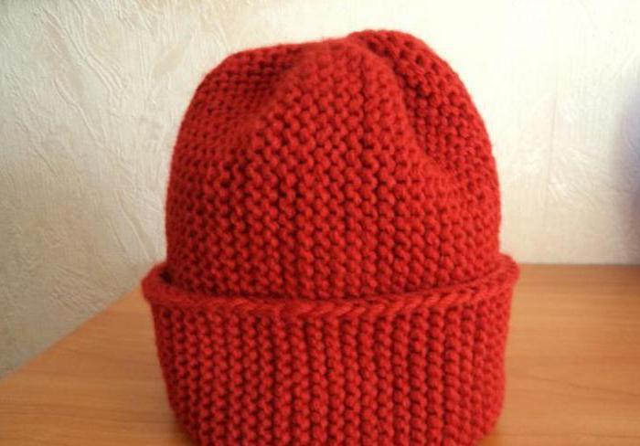 описание шапка для девочки и снуд спицами