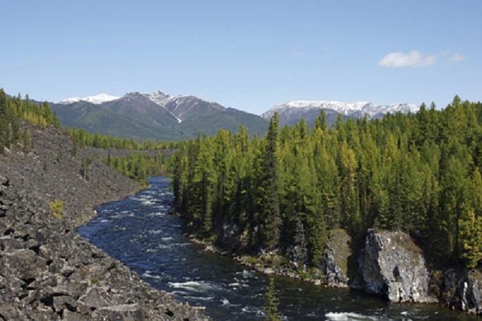 определение правого и левого берега реки