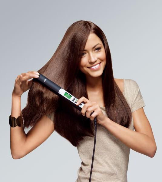 как можно сделать волосы гладкими