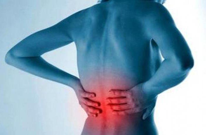 боли в спине проходят после приема пищи