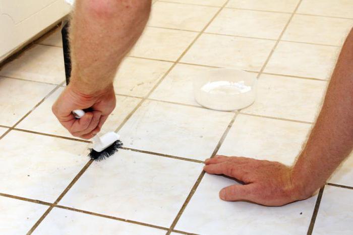Чем чистить плитку в ванной