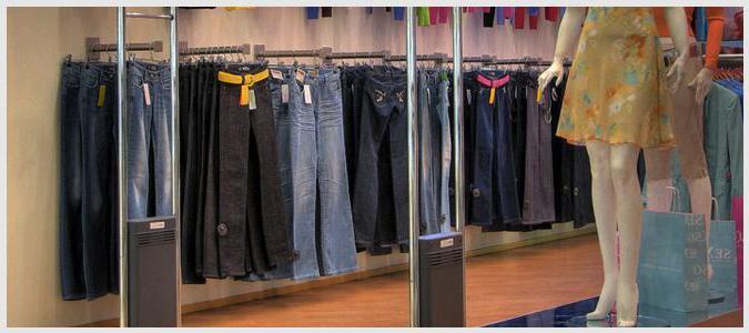 противокражные системы для магазинов одежды