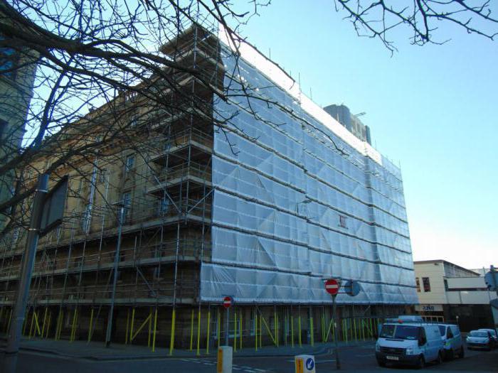 реставрация фасадов зданий технология