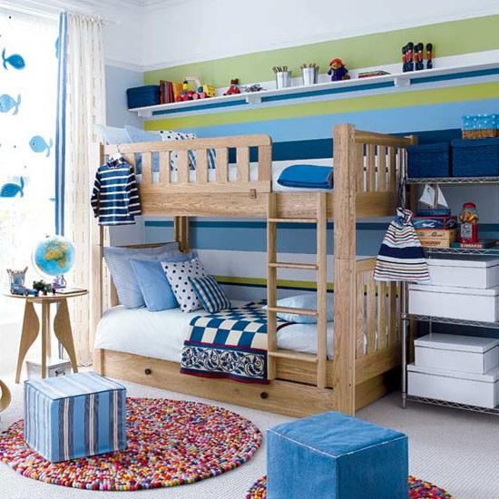 nursery for two boys