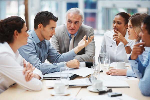 обсуждение бизнеса