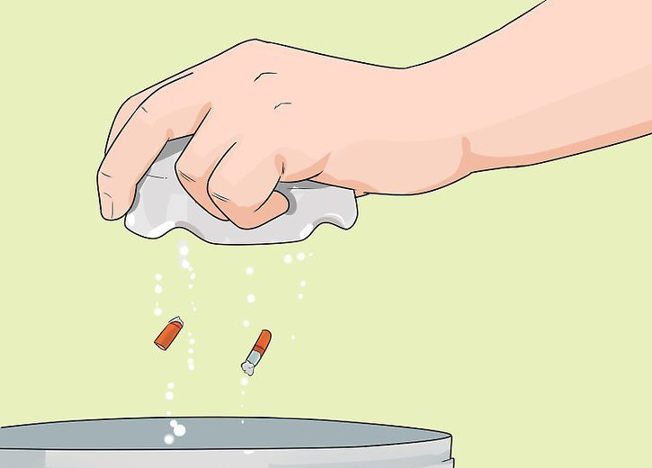 how to get rid of the smell of tobacco