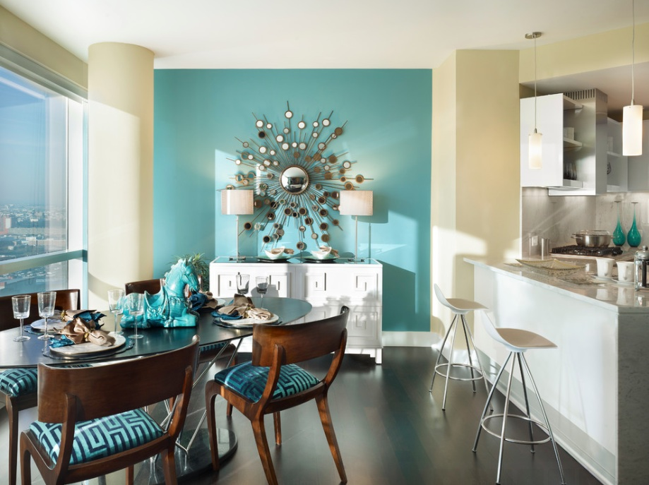 how to beautifully paint the walls in the apartment