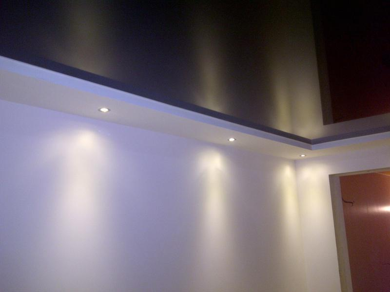 how to fix a cut on a stretch ceiling yourself