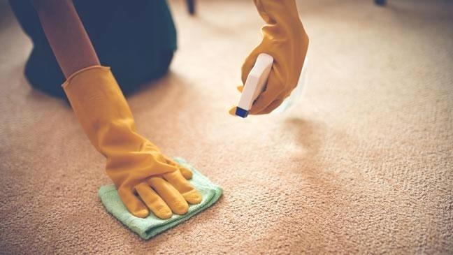 how to clean a carpet with soda at home