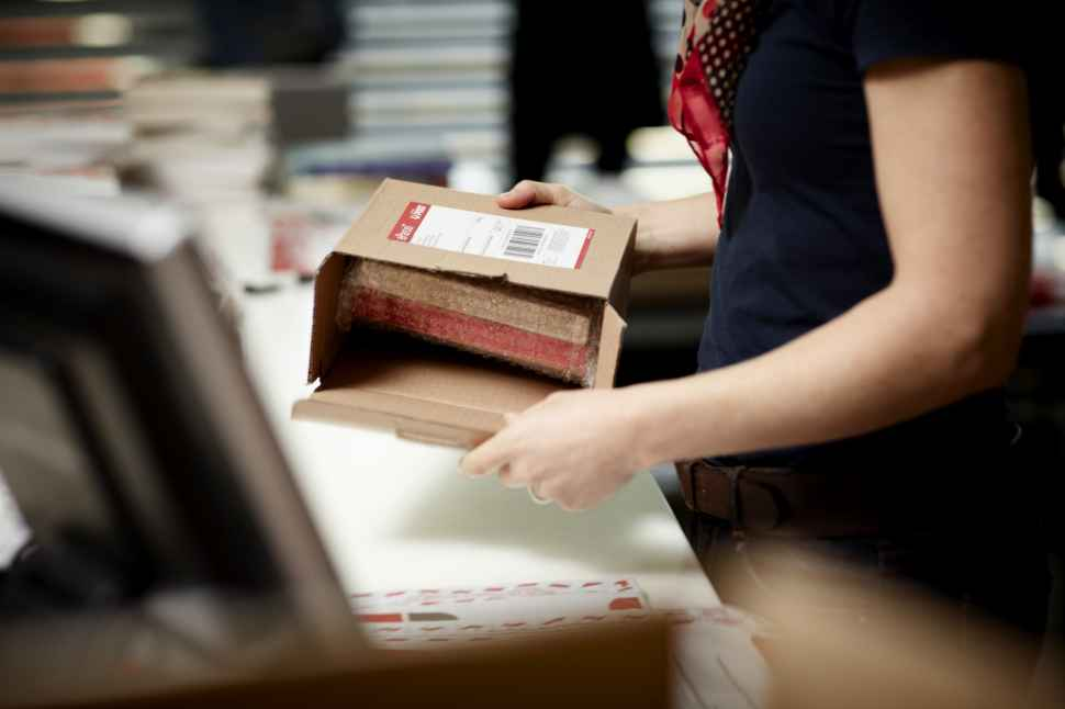 mail has lost a parcel from china
