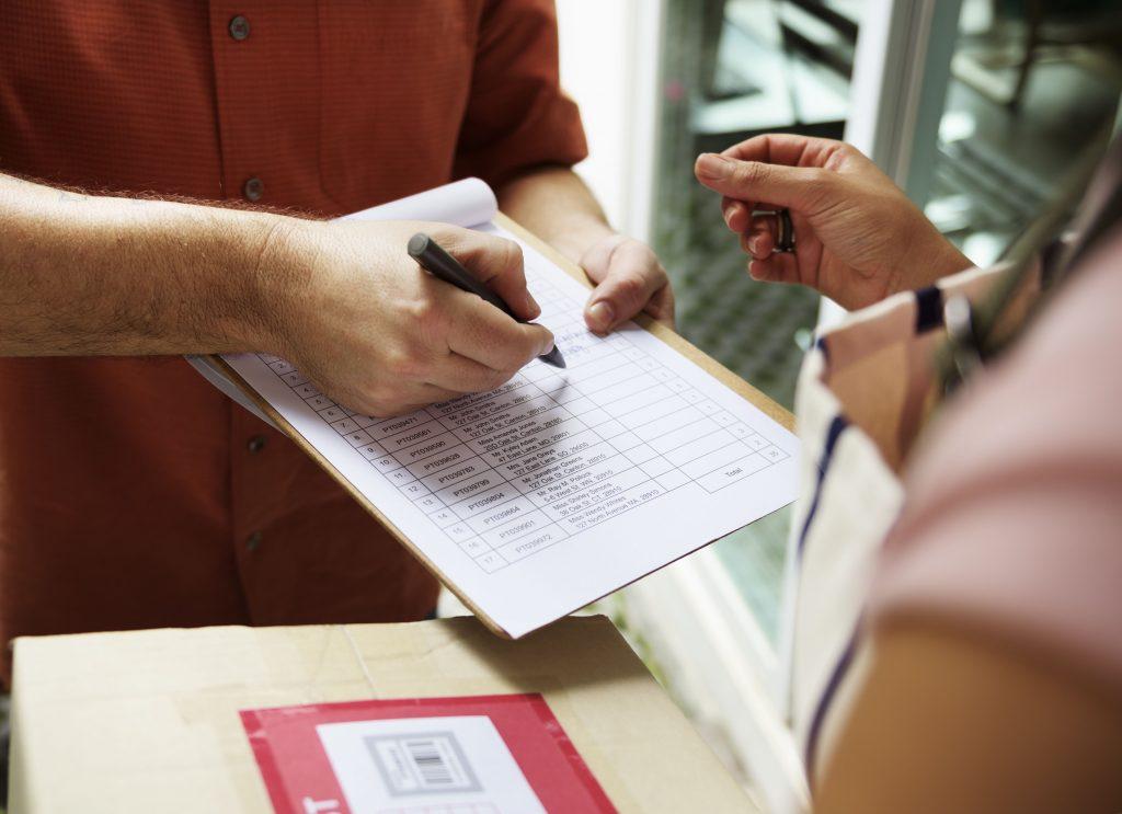 mail lost parcel action compensation