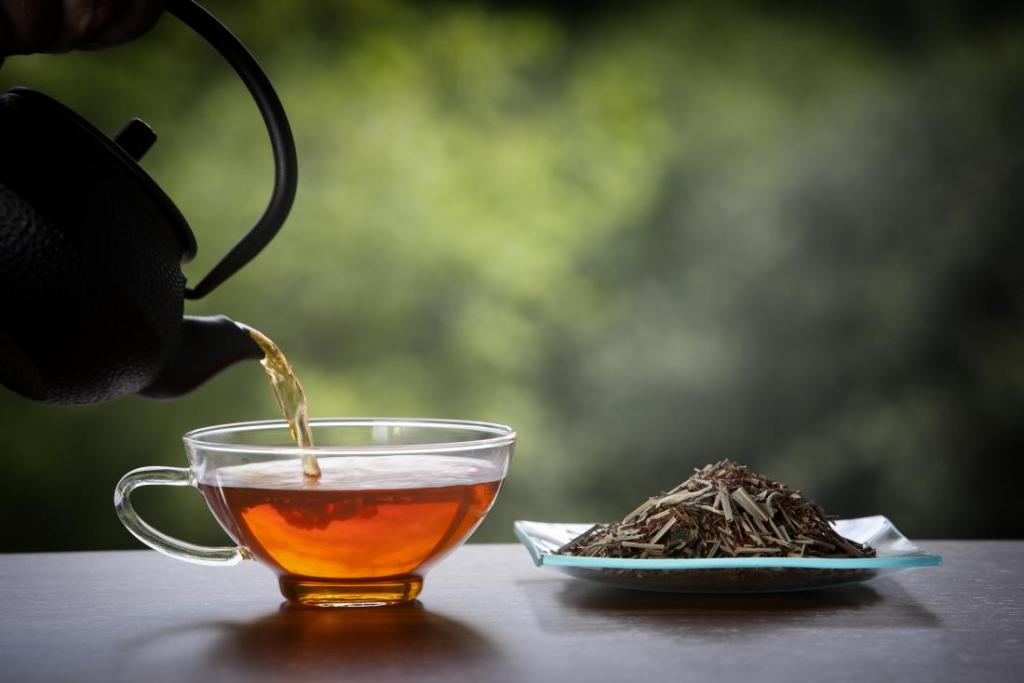 Does tea affect potency