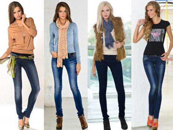 голубые джинсы с чем носить