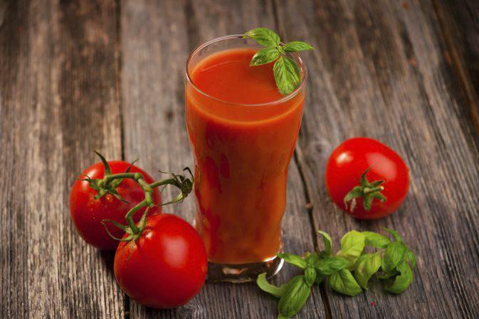 разгрузочный день на томатном соке