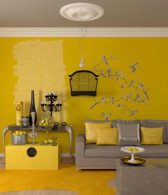 Интерьер в горчичном цвете - интересные идеи, особенности и отзывы