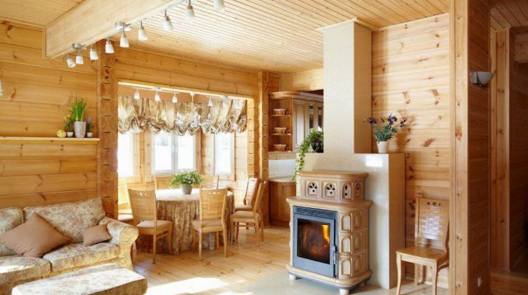 финские интерьеры деревянных домов