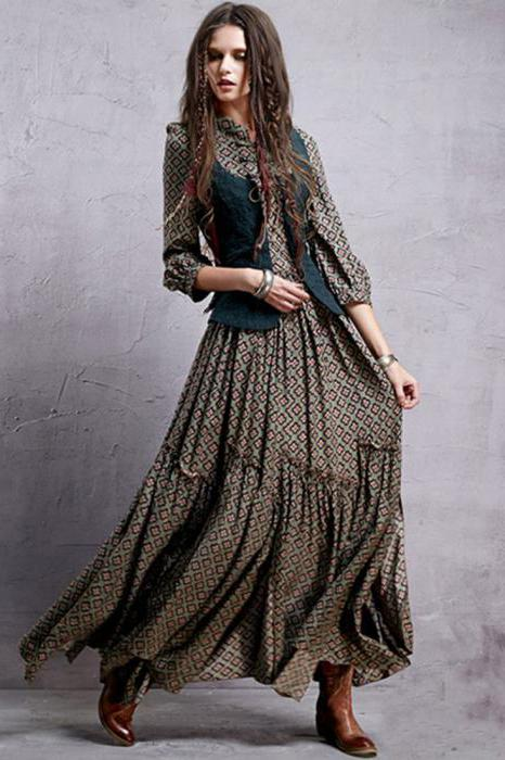 цветотип темная осень гардероб