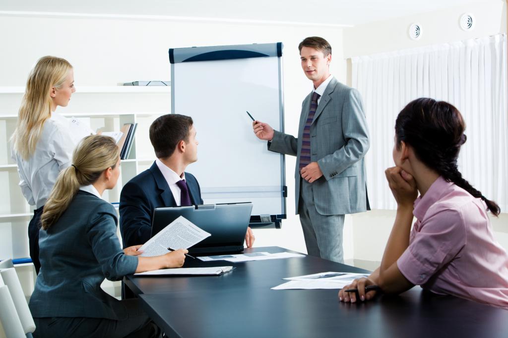 types of office meetings
