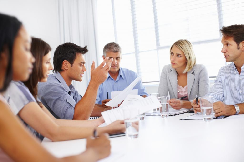 meeting as a type of business communication