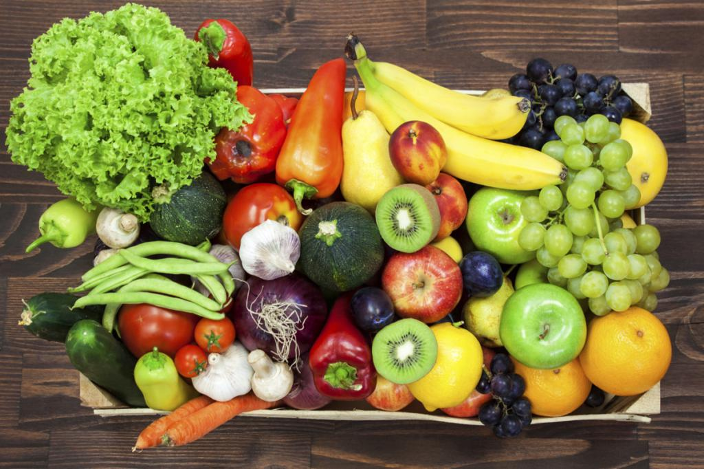 Ел Только Овощи Похудела.