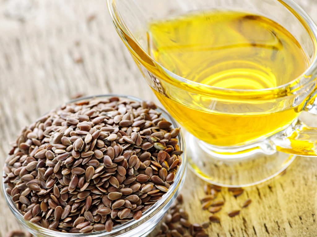 Льняное масло для похудения