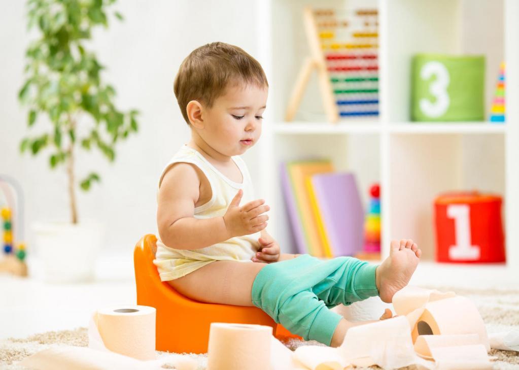 Как приучить ребёнка в два года к горшку