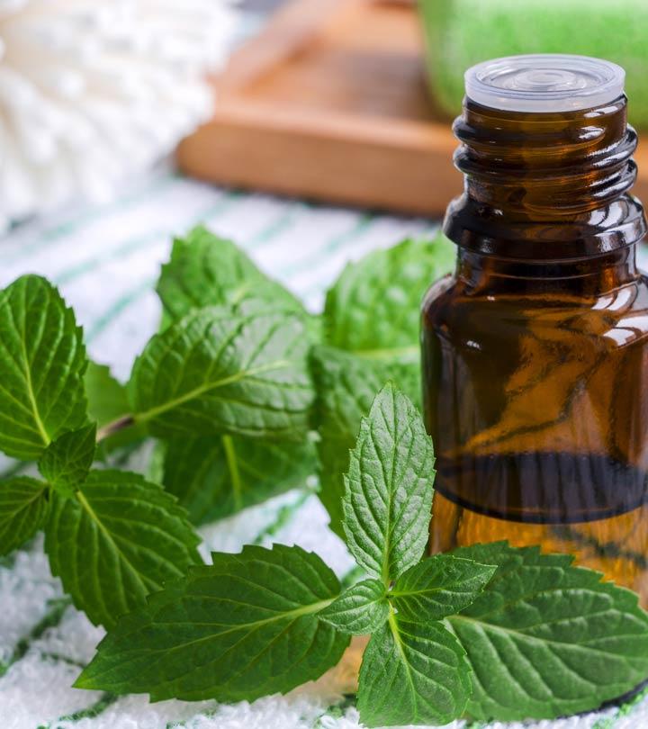 Эфирное масло мяты для лица: рецепты применения в домашних условиях
