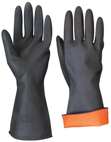 Перчатки резиновые технические