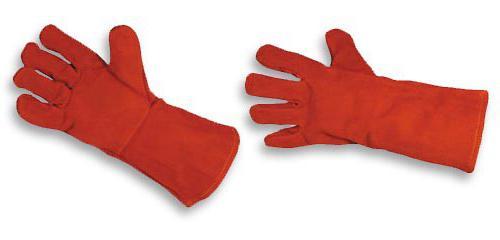 перчатки краги спилковые