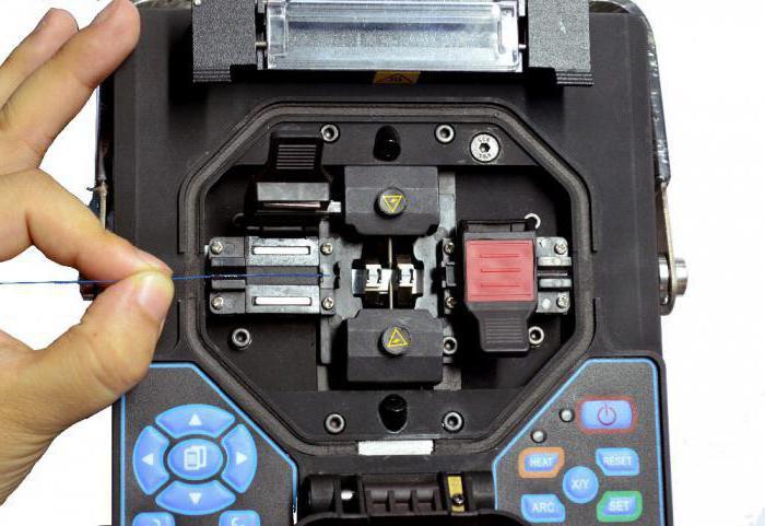 сварочный аппарат для сварки оптических волокон