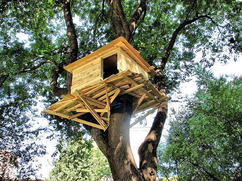 Как сделать мне ребенку дом на дереве 476