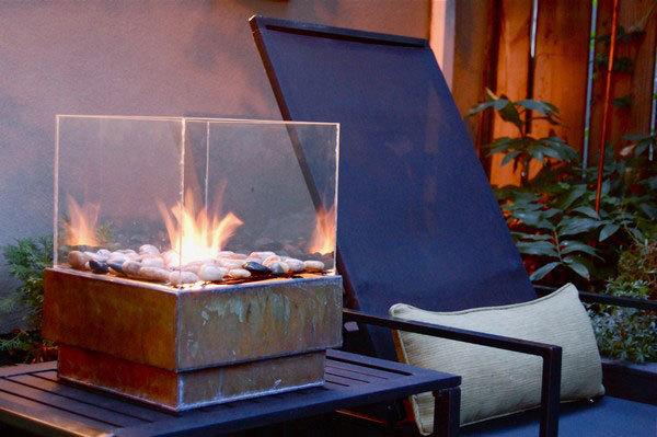 DIY bio fireplace