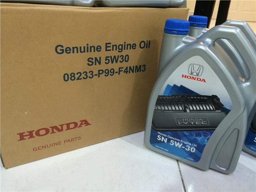 упаковка масла Хонда