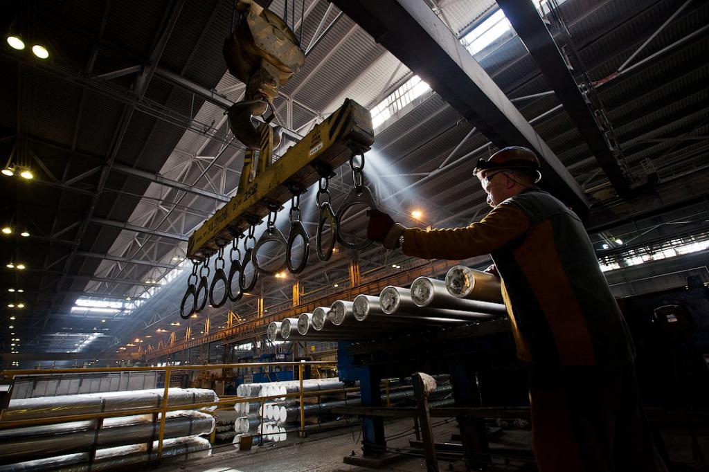 Обрабатывающая фабрика металлургической промышленности