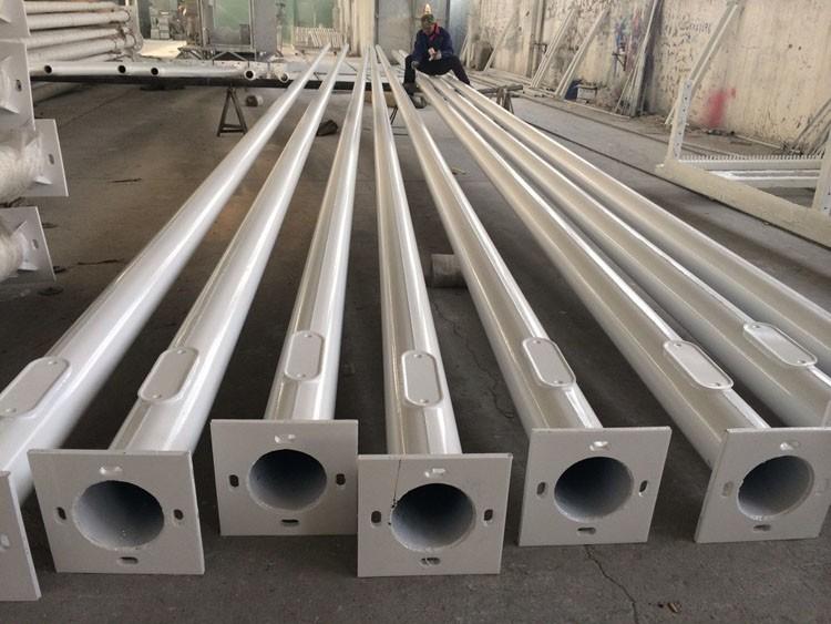 стальные опоры для установки