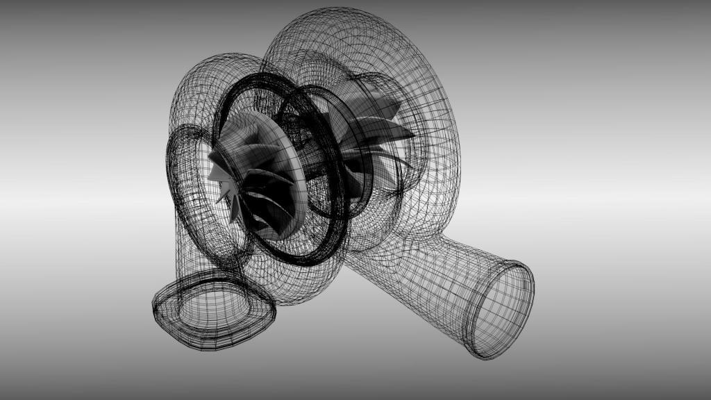 модель турбокомпрессора