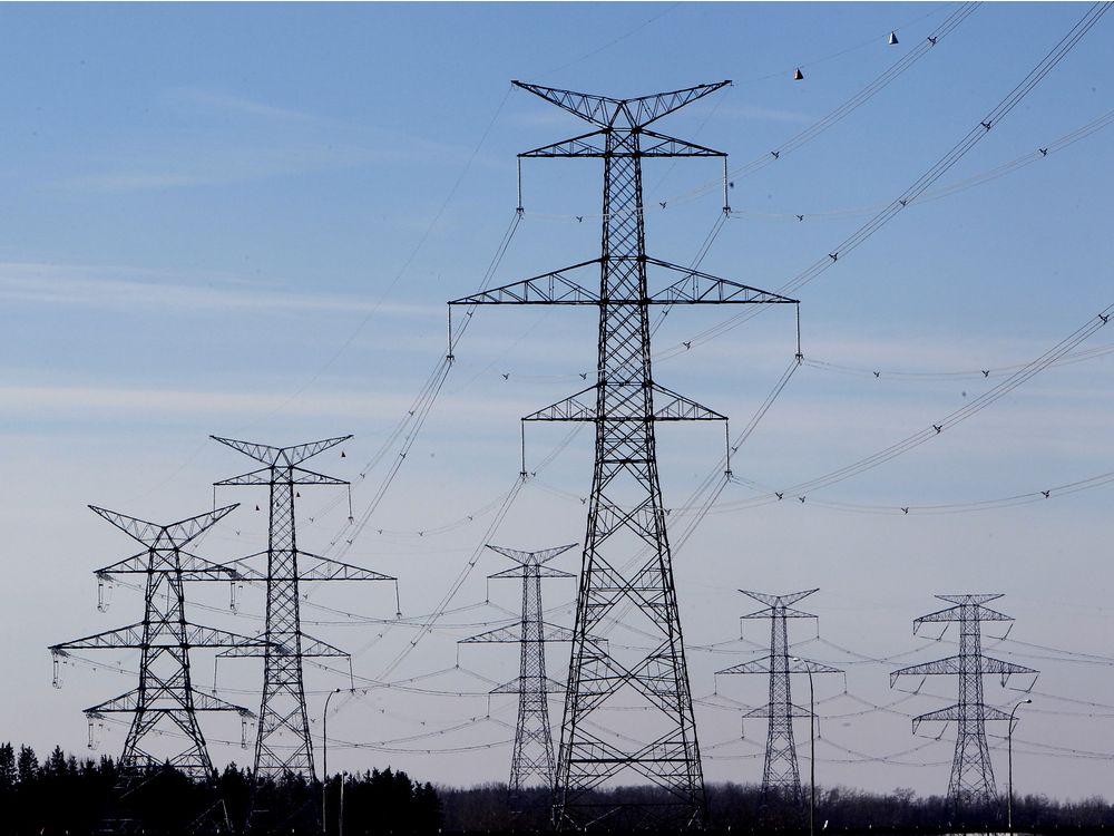 ЛЭП для передачи энергии