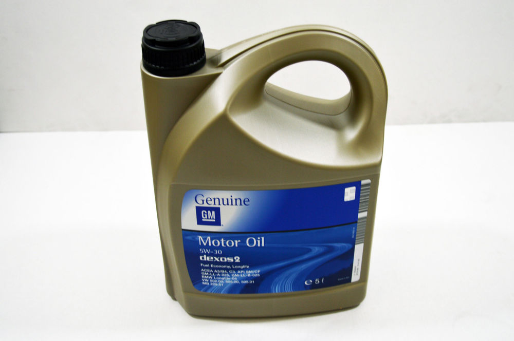 Моторное масло GM 5W30: описание, отзывы