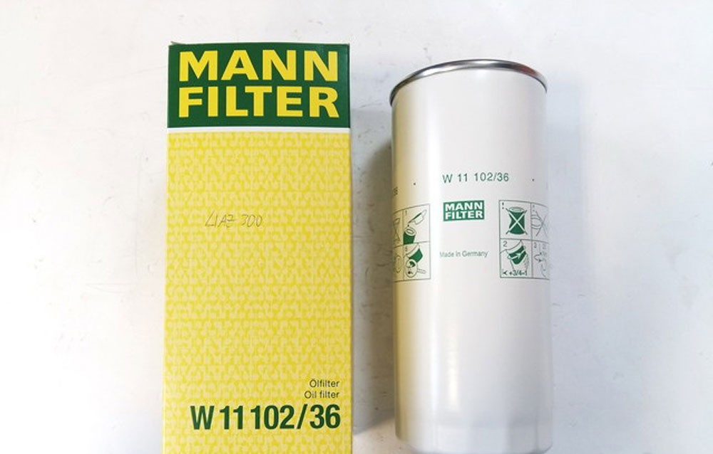 фильтр от производителя Манн
