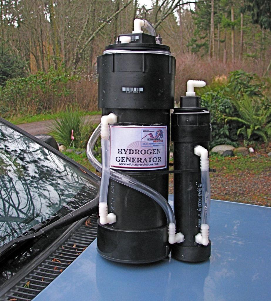 устройство генерации газа для авто
