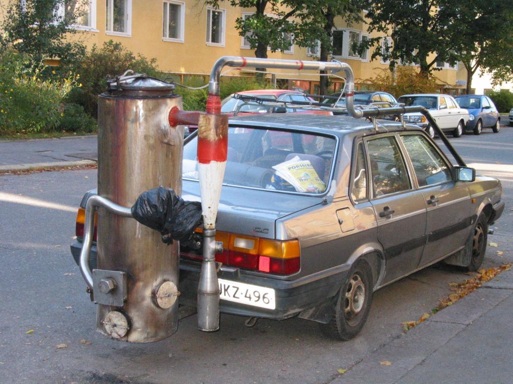 авто на газогенераторе