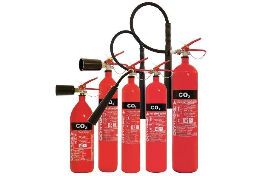 набор углекислотных огнетушителей
