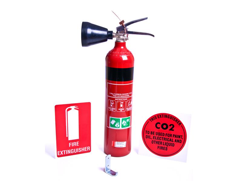 углексислотный огнетушитель ОУ-2