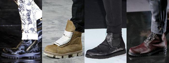 зимние ботинки цена мужские