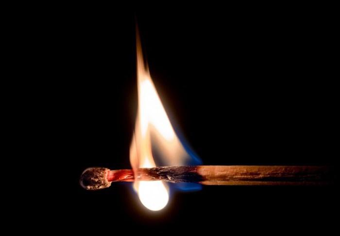 Температура углей в костре