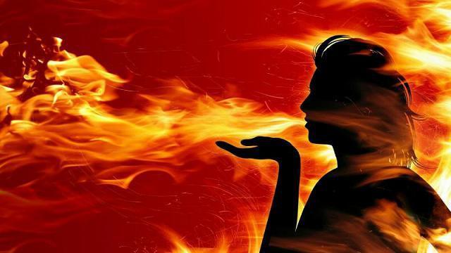 температура огня