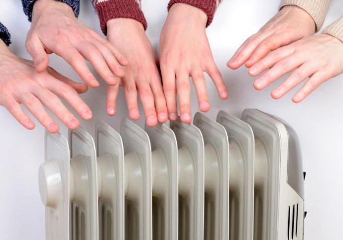 Температура воды отопления на входе