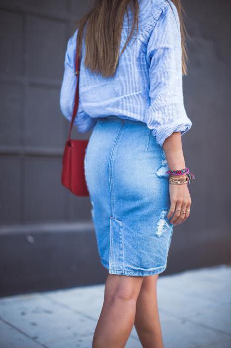 платья в джинсовом стиле